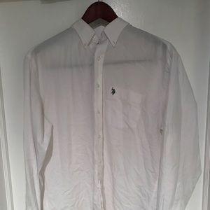 White Polo button down